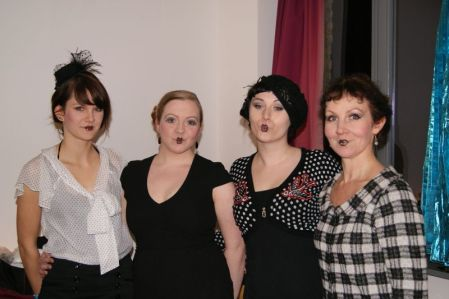 Kayyin Ensemble Backstage